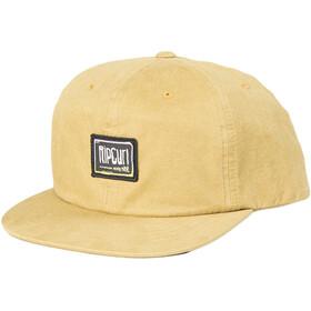 Rip Curl Native Glitch Snapback Cap Men washed yellow